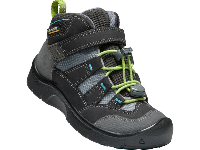 Keen Hikeport Mid WP Chaussures Enfant, magnet/greenery